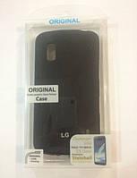 Силиконовый чехол для телефона Celebrity TPU cover case for LG E455 L5 II, black