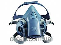 Полумаска респиратор 3М 7502. Маска - ЗМ™ серии 7500, размер M