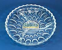 """Скляне Блюдо розділена на 3 секції 22,5 см """"Mina"""" Isfahan Glass (Іран) 743-Mina, фото 1"""