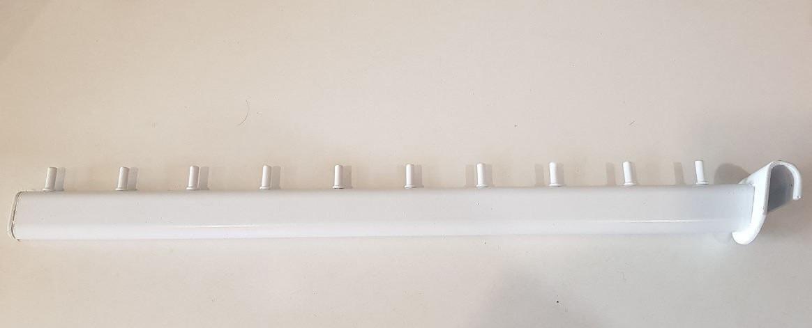 Кронштейн (флейта) на перемычку белый 45 см (б/у)