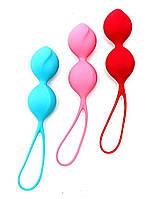 Комплект вагинальных шариков Satisfyer Balls C03 Double (Set of 3). Вагинальные шарики