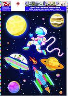 Декоративная наклейка ZV  № 12 Космос