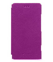 Чехол-книжка для телефона Melkco Book leather case for Nokia Lumia 620, purple (NKLU62LCFB2PELC)