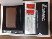 Кожаный чехол-накладка для телефона Nosson case for iPhone 4
