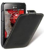 Чехол-флип для телефона Melkco Jacka leather case for LG E435 L3 II, black