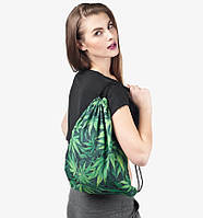 Рюкзак сумка 3D принт конопля