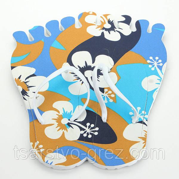 Тапки вьетнамки Лапа (Цвет: ЦВЕТОК) (38 размер)