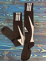 Гетры для футбола Adidas (Черные), фото 1