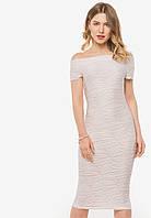 Нежное нарядное женское белое платье со спущенными плечами 90363, фото 1