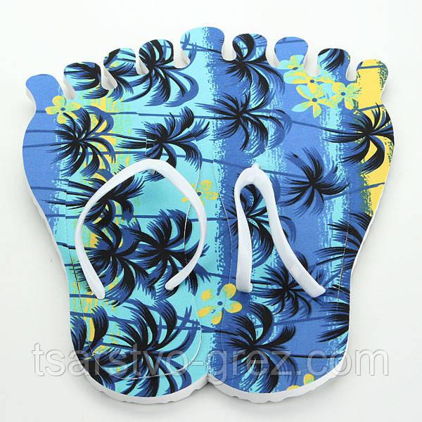 Тапки вьетнамки Лапа (Цвет: ПАЛЬМА) (38 размер)