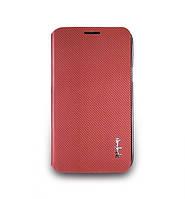 Чехол-книжка для телефона NavJack Corium series case for Samsung N7100 Galaxy Note II, persian red (J016-18)