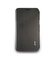 Чехол-книжка для телефона NavJack Corium series flip case for Samsung N7100 Galaxy Note II, taupe gray (J016-16)