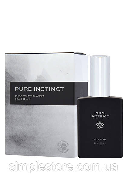 Мужские духи с феромонами Pure Instinct Cologne For Him 30 ml