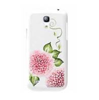 Пластиковый чехол-накладка для телефона iCover Hand printing cover case for Samsung i9190 Galaxy S IV Mini, spring garden 2 (SG4M-HP/W-SG02)