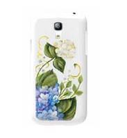 Пластиковый чехол-накладка для телефона iCover Hand Printing cover case for Samsung i9190 Galaxy S IV Mini, spring garden 3 (GS4M-HP/W-SG03)