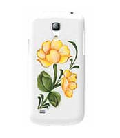 Пластиковый чехол-накладка для телефона iCover Hand Printing cover case for Samsung i9190 Galaxy S IV Mini, spring garden 4 (GS4M-HP/W-SG04)