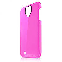 Пластиковый чехол-накладка для телефона itSkins The new Ghost cover case for Samsung i9500 Galaxy S4, pink (SGS4 TNGST PINK)