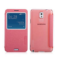 Чехол-книжка для телефона Momax Flip View case for Samsung N9000 Galaxy Note 3, pink (FVSANOTE3P)