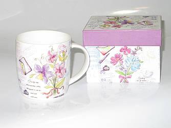 Чайная чашка в подарочной коробке для девушки купить