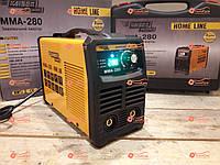 Сварочный аппарат инвертор Kaiser MMA-280 Home Line, Дисплей, Кейс, 280А, 6.2кВт