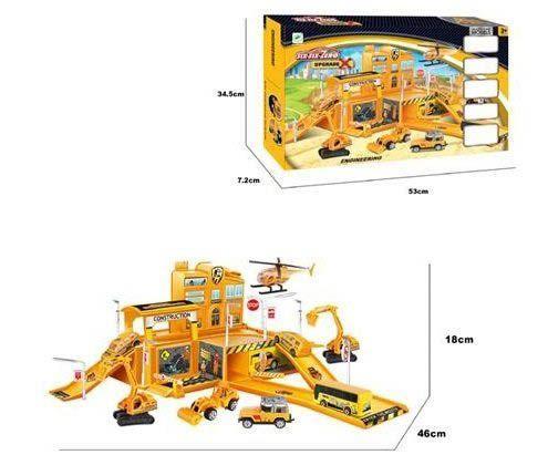 Игровой набор «six-six-Zero: Строительная площадка» 660-A66