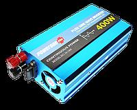 Преобразователь напряжения инвертор Powerone 12- 220V 400W - чистая синусоида, фото 1