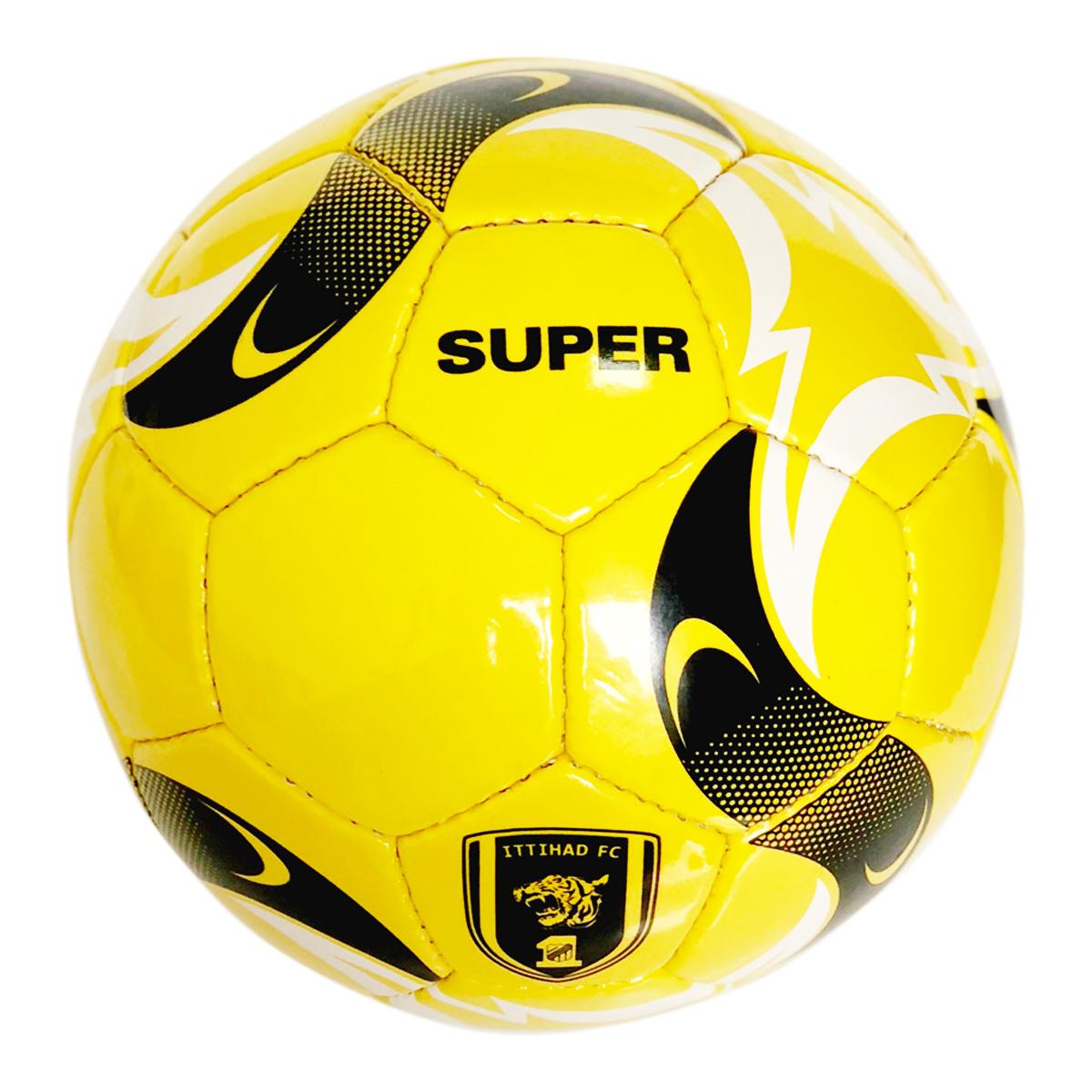 М'яч футбольний Super Yellow (Size 5)
