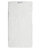 Чехол-книжка для телефона Melkco Book leather case for Sony Xperia SP C5303, white (SEXPSPLCFB2WELC)