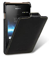 Чехол-флип для телефона Melkco Jacka leather case for Sony Xperia E Dual C1605, black (SEXPRELCJT1BKLC)