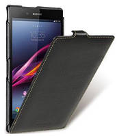 Чехол-флип для телефона Melkco Jacka leather case for Sony Xperia Z Ultra C6802, black (SEXPZULCJT1BKLC)