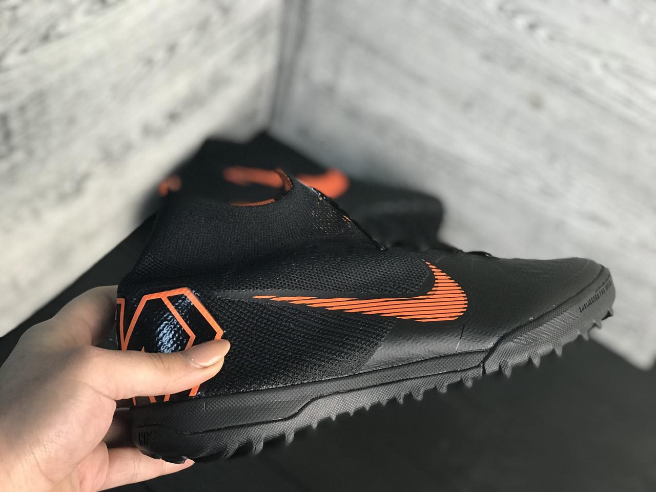 Сороконожки Nike Mercurial c носком /многошиповки(реплика)