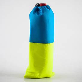 Термосумка  для бутылки 2л желто-голубая