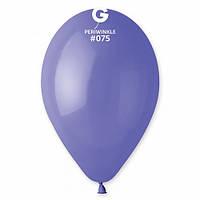 """Шары 5"""" 13 см пастель барвинок-голубой №75"""