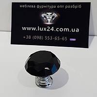 Ручка кнопка з кристалом код. 0877