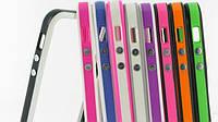 Чехол-бампер для iPhone 5С с полоской, mixcolor