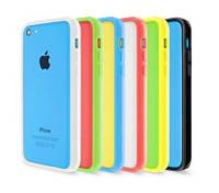 Чехол-бампер для iPhone 5С, mixcolor