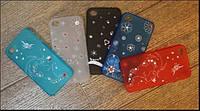 Чехол для телефона Parmp back cover for iPhone 4 с камнями
