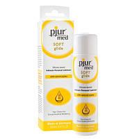 Силиконовая смазка для чувствительной кожи Pjur MED Soft Glide 100 ml для сухой и чувствительной кожи (Пьюр, Пджюр)