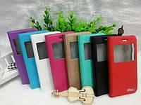 Чехол-книжка для телефона Book case for Samsung E5 , black Hozis