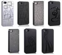 Пластиковый чехол-накладка для телефона SFD back cover for iPhone 4/4s
