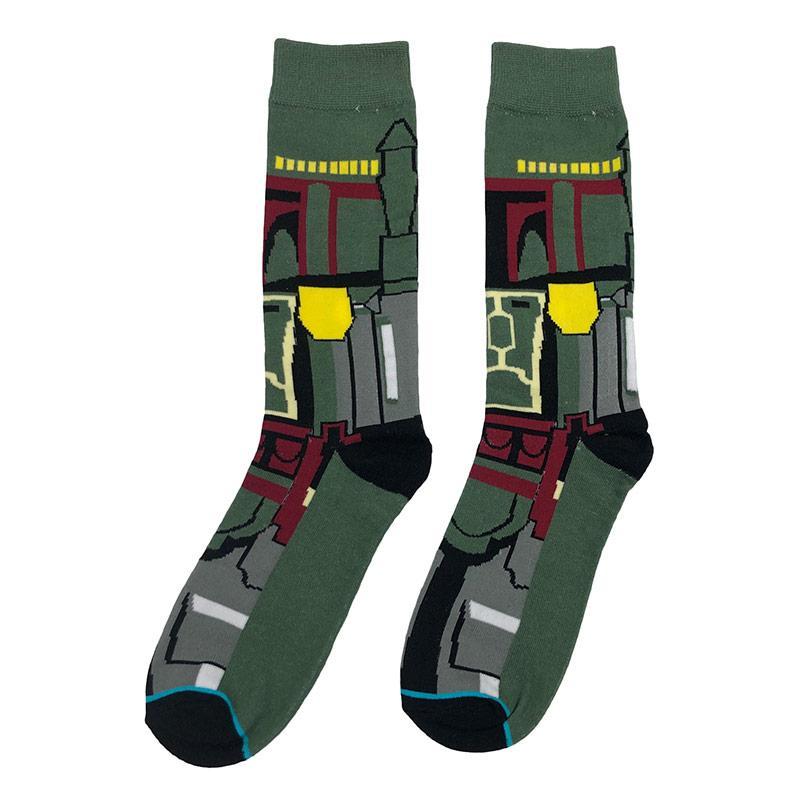 Носки женские МК-1296 высокие зеленые (р38-45)