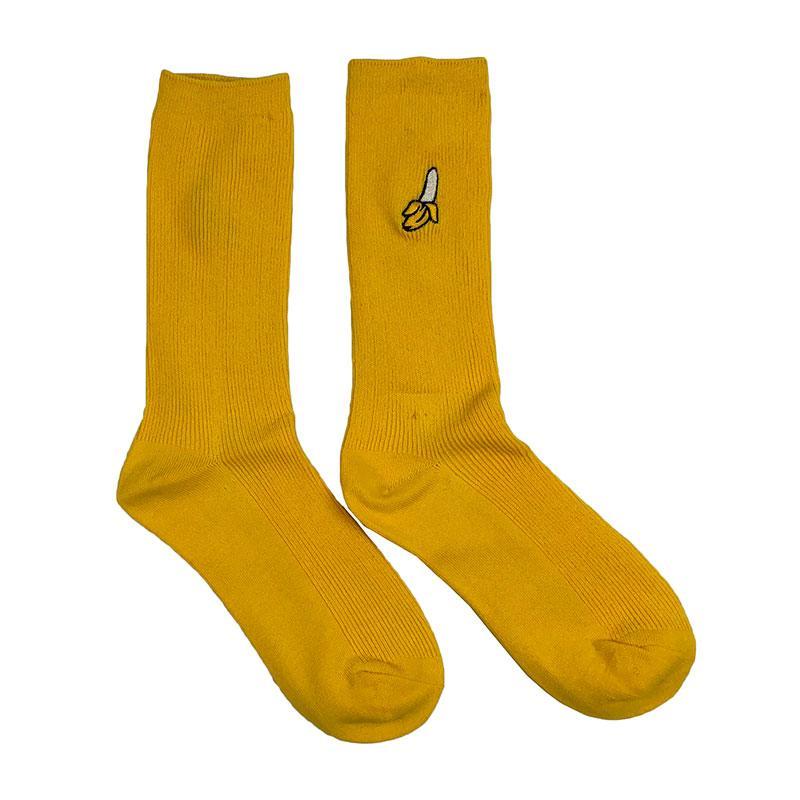 Носки женские МК-1334 высокие желтые (р37-45)