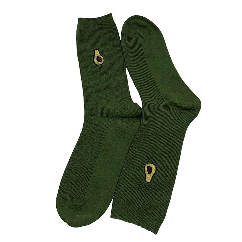 Носки мужские МК-1332 высокие зеленые (р37-45)