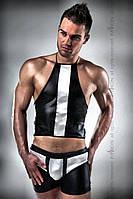 Мужской черно-белый сексуальный комплект 018 SET XXL/XXXL - Passion