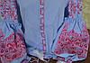 """Вишита сорочка """"Барвиста"""" голуба, фото 2"""