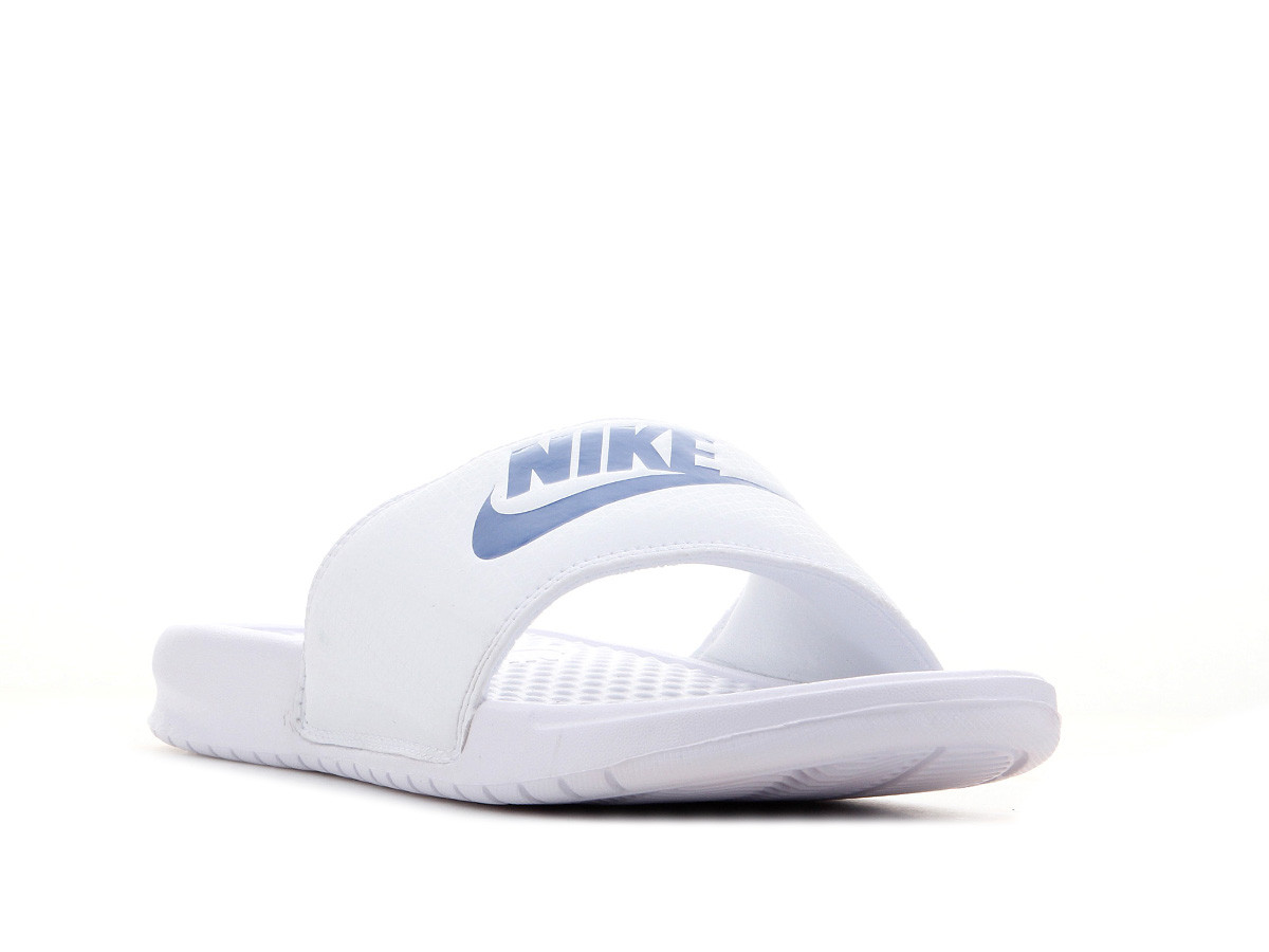 6c2a5ae2d Шлепанцы Nike Benassi JDI Slide 343880-102 9 US 27 см 42.5 Белый с синим