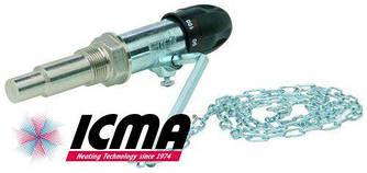 Терморегулятор ICMA арт.147 термоклапан с регулятором - цепочкой для твердотопливных котлов