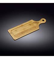 Сервировочная доска с ручкой Wilmax Bamboo WL-771005