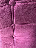 Барний стілець Alex Шеніл, ліловий, фото 5