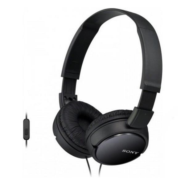 Навушники Sony MDR-ZX110AP Black (MDRZX110APB.CE7)